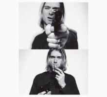 Kurt Cobain Nirvana  by kmilentis