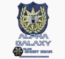 Clan Ghost Bear Alpha Galaxy by CGBCoffiNail