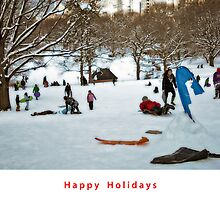 Happy Holidays by Madeline Bush Ellis
