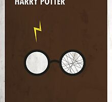 Harry Potter Minimal Film Poster by quimmirabet