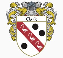 Clark Coat of Arms/Family Crest by William Martin