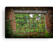 A room with a view - Sissinghurst Castle Canvas Print