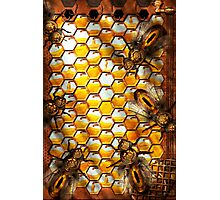 Steampunk - Apiary - The hive Photographic Print