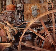 Steampunk - Machine - The industrial age by Mike  Savad