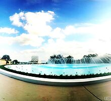 Water Dome of Florida Southern College by Lakelander