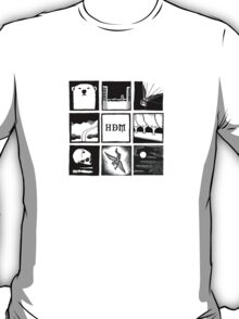 Minimalistic: His Dark Materials Square T-Shirt