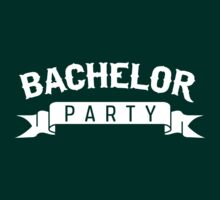 Bachelor Party Ribbon by bridal