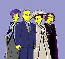 Downton Abbey Four by Donna Huntriss