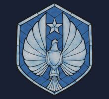 PPDC SHIELD SHIRT - BLUE by SporkArt