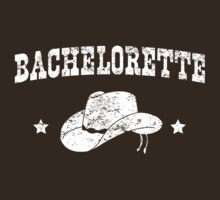 Cowboy Bachelorette Vintage by bridal