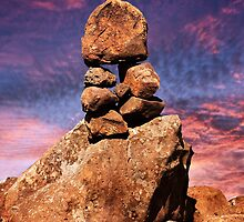 Stacked Rocks at Garden Of The Gods by Alex Preiss