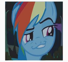 Rainbow Dash Season 4 Funny Face by LopperUK