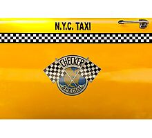 Car - City - NYC Taxi Photographic Print