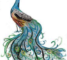 Peacock by Lisa Pike