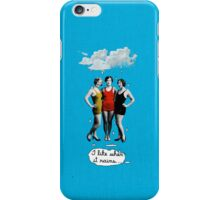 I Love When it Rains iPhone Case/Skin
