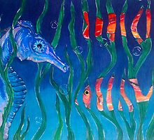 Under the Sea Magrit Style by Brenda Hopkins
