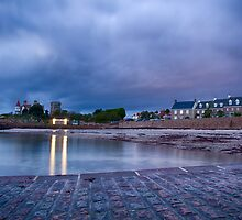 La Rocque Harbour II by Mark Bowden