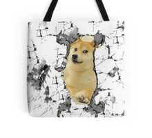 Attack on Doge Tote Bag