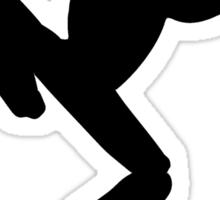 Frog Silhouette Sticker