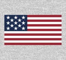 13 Star US Flag by cadellin