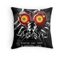 Majoras Mask - Meeting With a Terrible Fate Throw Pillow