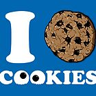 I Love Cookies by 2mzdesign