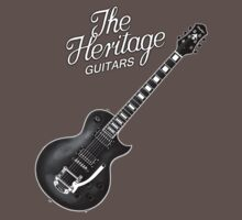 Heritage Guitars decoration Clothing & Stickers by goodmusic