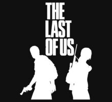 The Last Of Us white-print shirt by DryYoshi