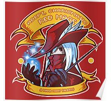 Adept, Charismatic Red Mage Poster