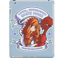 Loyal, Determined White Mage iPad Case/Skin