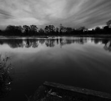 fishing pond by Gary Sutton