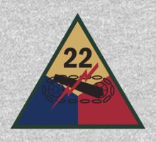 22nd Armor Insignia by cadellin