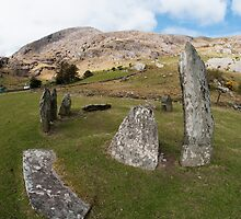 Shronebirren Stone Circle by donberry