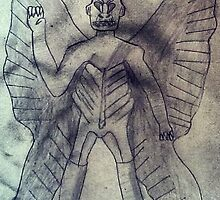 pazuzu drowing by Darkness-man