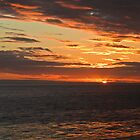 Santa Barbara sunset 11-29-2013-#3 by David Chesluk