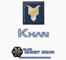 Clan Ghost Bear Rank: Khan by CGBCoffiNail