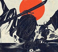 Ukiyo-e You Shall Not Steal by JasonNgai
