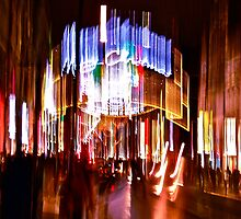 Christmas decorations, Oxford street, London, No 3 by lightworks