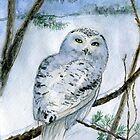 Snowy Owl by Redilion