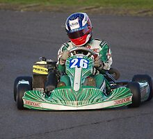 #26 Tony Kart at Lydd Kart Circuit - December 2013 by motapics