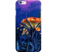 Psychadellic Mushrooms of the Shivering Isles iPhone Case/Skin