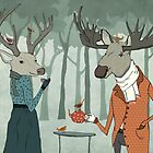 Winter tea together by Egle Plytnikaite