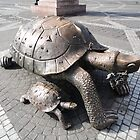 Tortoise Sculptures, Bordeaux, France 2012 by muz2142