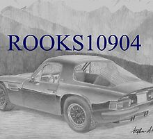 TVR 2500m SPORTS CAR ART PRINT by rooks10904