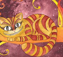 Cheshire Cat by unicornucopiae