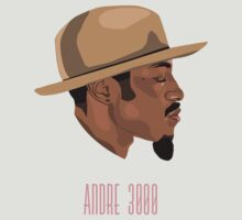 Andre 3000 by Britt Manning