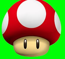 Super Mario Growing mushroom by stuntmanhemi