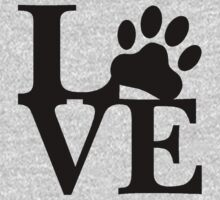 LOVE DOG PAW Kids Clothes