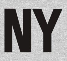 New York NY Black Ink T-Shirt