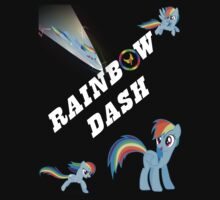 My Little Pony - Rainbow Dash (Dark Shirt) by BlueBeasts